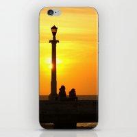 Romancing The Sunset 2 iPhone & iPod Skin