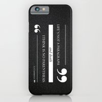 Parenthesis iPhone 6 Slim Case