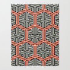 Hexagon No. 1 Canvas Print