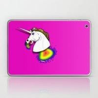 HOMOPHOBIA KILLS UNICORN… Laptop & iPad Skin