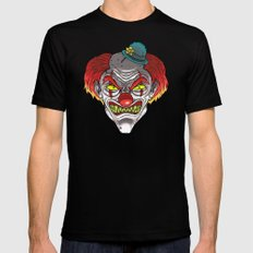 Badass Clown SMALL Mens Fitted Tee Black