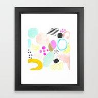 MIAMI MOOD Framed Art Print