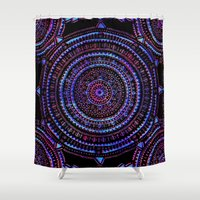 Mandala I Shower Curtain
