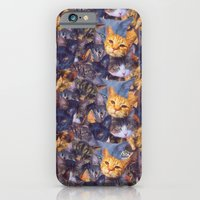 iPhone & iPod Case featuring Cat Lady by Charlene McCoy