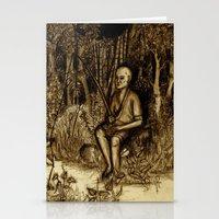 Mud Man Stationery Cards