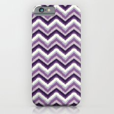 Ikat Chevron: Purple Tonal  Slim Case iPhone 6s