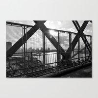Williamsburg Bridge Canvas Print