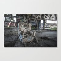 Throne of Man Canvas Print