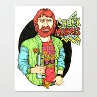 Chuck Morris Canvas Print
