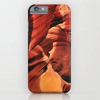 iPhone & iPod Case featuring Curves. Low Antelope Canyon, Arizona, USA by LudaNayvelt
