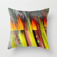 Fire Inside Throw Pillow