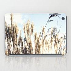 sun setting on reeds iPad Case
