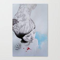 Hidden trees Canvas Print