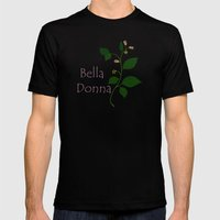 Bella Donna Mens Fitted Tee Black SMALL