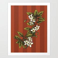 Vintage Flower (1) Art Print