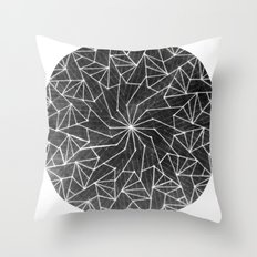 Spinny 4 Throw Pillow