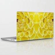 Yellow Blossom Laptop & iPad Skin