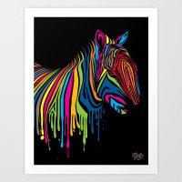 ZebrArt Art Print