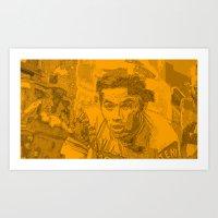 Eddy Merckx Portrait Art Print