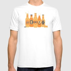 Cheers! Mens Fitted Tee White SMALL