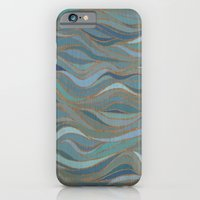 Wave lines 1 iPhone 6 Slim Case