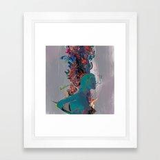 Beneath The Air Framed Art Print