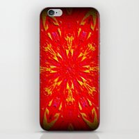 Fire Mandala iPhone & iPod Skin