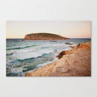 MEDITERRANEAN WAVES Canvas Print