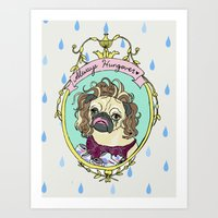 Always Hungover Art Print