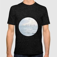 Fly Away With Me III Mens Fitted Tee Tri-Black SMALL