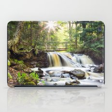 Upper Chapel Falls at Pictured Rocks National Lakeshore - Michigan iPad Case