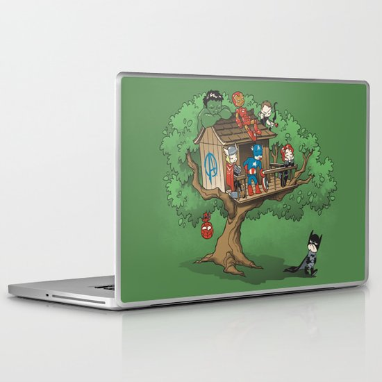 Super Exclusive Club Laptop & iPad Skin