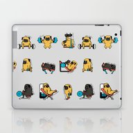 Leg Day With The Pug Laptop & iPad Skin