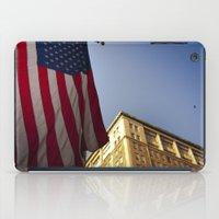 Cornice With Flag iPad Case