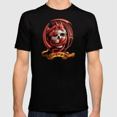 Game Of Red Dragon Thron… Mens Fitted Tee Black SMALL