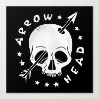 Arrowhead Canvas Print