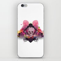 Skull Rainbow iPhone & iPod Skin