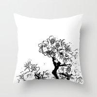 Cherry Blossom #7 Throw Pillow