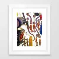 bias Framed Art Print