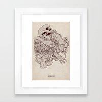 Always and Forever Framed Art Print