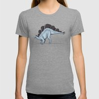 Oreosaurus Womens Fitted Tee Tri-Grey SMALL