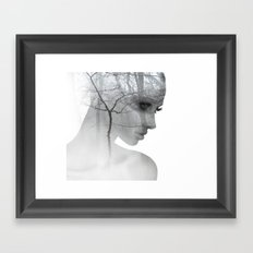 Sometimes all I want is to get lost Framed Art Print