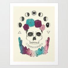 Live Forever Art Print
