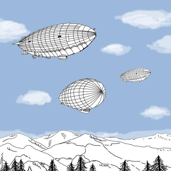 Airships Art Print