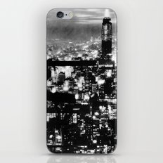 Late night construction in NYC iPhone & iPod Skin