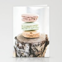 Macarons From Paris Stationery Cards