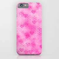 Pink Hearted iPhone 6 Slim Case