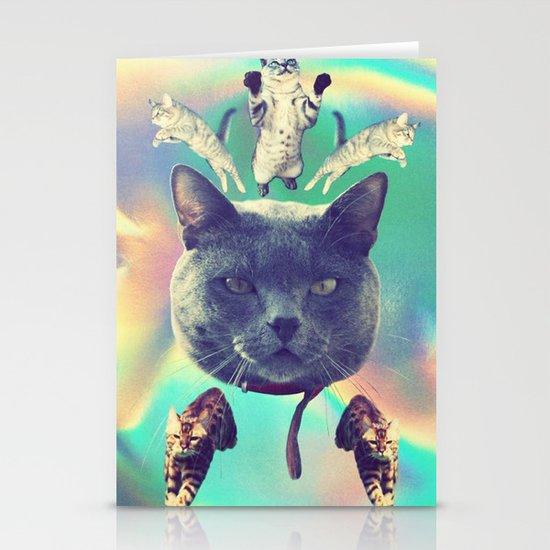 galactic Cats Saga 3 Stationery Card