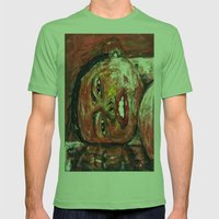 DREAMING Mens Fitted Tee Grass SMALL
