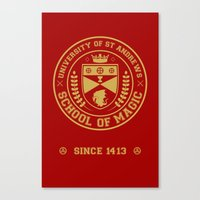 The Student Prince -  University of St Andrews School of Magic Canvas Print